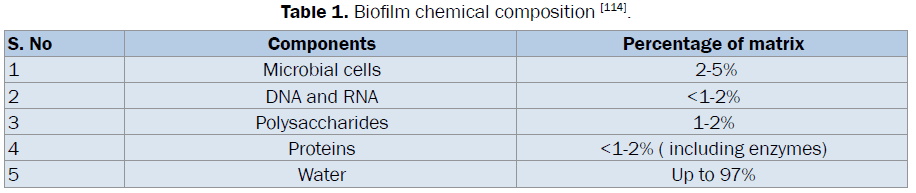 microbiology-biotechnology-Biofilm-chemical-composition